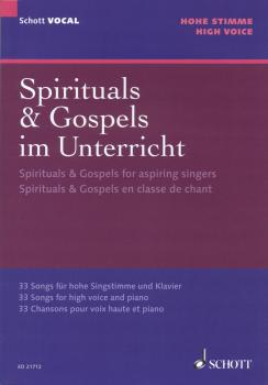 Spirituals & Gospels for Aspiring Singers: 33 Songs for High Voice and (HL-49044537)