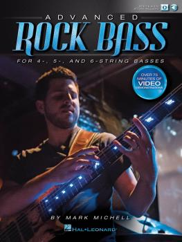Advanced Rock Bass (for 4-, 5- and 6-String Basses) (HL-00141066)