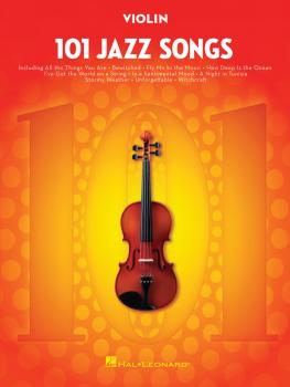 101 Jazz Songs for Violin (HL-00146371)
