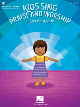 Kids Sing Praise and Worship: Book with companion recordings of Piano  (HL-00121351)