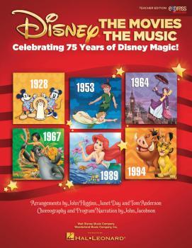 Disney: The Movies The Music: Celebrating 75 Years of Disney Magic! (HL-00155282)