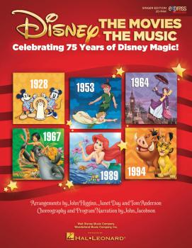 Disney: The Movies The Music: Celebrating 75 Years of Disney Magic! (HL-00155283)