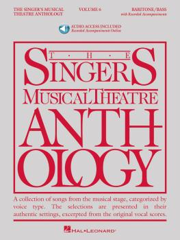 The Singer's Musical Theatre Anthology - Volume 6: Baritone/Bass Book/ (HL-00145267)