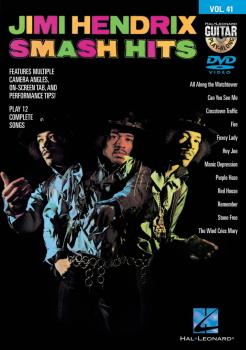Jimi Hendrix - Smash Hits: Guitar Play-Along DVD Volume 41 (HL-00130592)