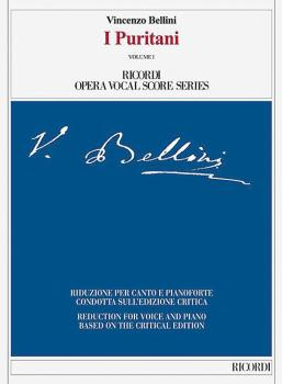 I Puritani: Ricordi Opera Vocal Score Series (HL-50600483)