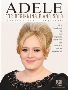 Adele for Beginning Piano Solo (HL-00156395)
