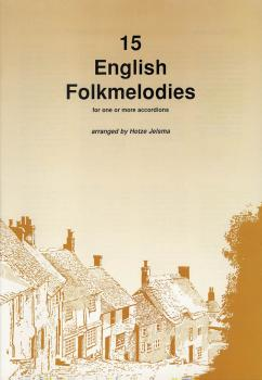 15 English Folkmelodies Score And Parts (HL-44001523)