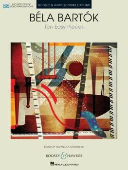 10 Easy Pieces for Piano (With Online Video Piano Lessons) (HL-48023607)