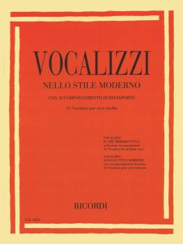 Vocalises in the Modern Style [Vocalizzi Nello Stile Moderno] (Medium  (HL-50600412)