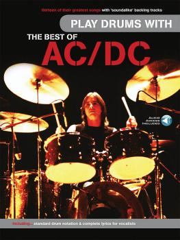 Play Drums with the Best of AC/DC (HL-14050051)