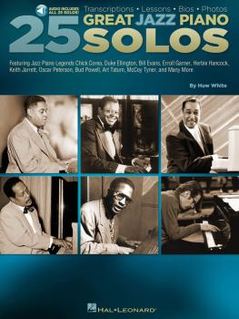 25 Great Jazz Piano Solos: Transcriptions · Lessons · Bios · Photos (HL-00129700)