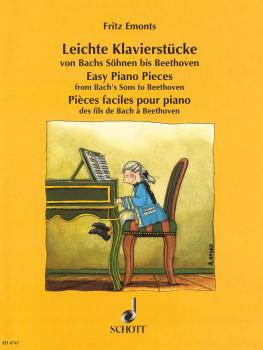 Easy Piano Pieces from Bach's Sons to Beethoven (HL-49005116)