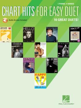 Chart Hits for Easy Duet (1 Piano, 4 Hands) (HL-00159796)