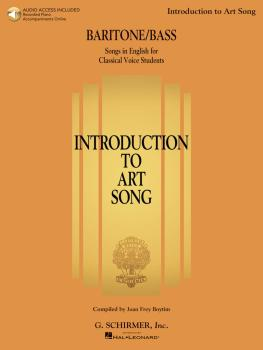 Introduction to Art Song for Baritone/Bass: Songs in English for Class (HL-50600560)