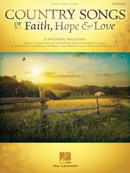 Country Songs of Faith, Hope & Love - 2nd Edition (HL-00159863)