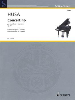 Concertino for Piano and Orchestra, Op. 10: Reduction for Two Pianos (HL-49044725)