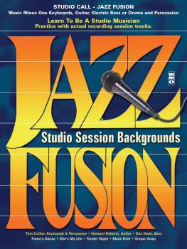 Studio Call: Jazz/Fusion - Electric Bass: Learn to Be a Studio Musicia (HL-00400188)