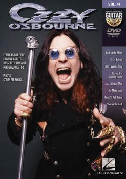 Ozzy Osbourne: Guitar Play-Along DVD Volume 44 (HL-00139822)
