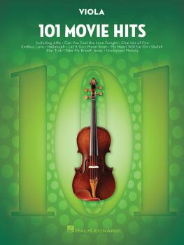 101 Movie Hits for Viola (HL-00158095)