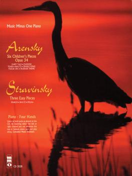 Arensky - 6 Pieces Enfantines, Op. 34; Stravinsky - 3 Easy Pieces for  (HL-00400209)