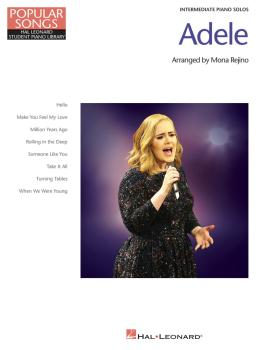 Adele - Popular Songs Series (8 Beautiful Arrangements for Intermediat (HL-00159590)