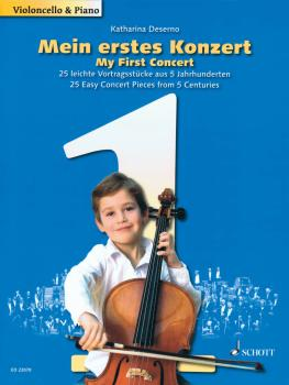 My First Concert - 25 Easy Concert Pieces from 5 Centuries (Cello and  (HL-49044766)