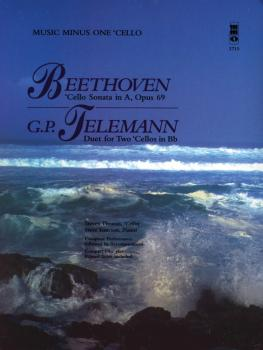 Beethoven - Cello Sonata in A, Op. 69; Telemann - Duet for Two Cellos  (HL-00400422)