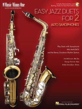 Easy Jazz Duets for 2 Alto Saxophones and Rhythm Section (HL-00400480)
