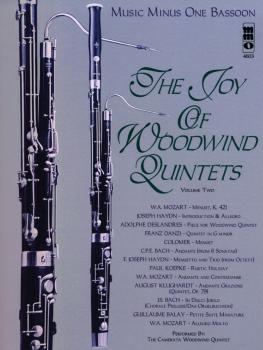 The Joy of Woodwind Quintets - Volume Two: Music Minus One Bassoon (HL-00400514)
