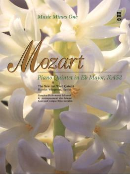Mozart - Piano Quintet in Eb Major, K.452: Music Minus One Bassoon (HL-00400516)