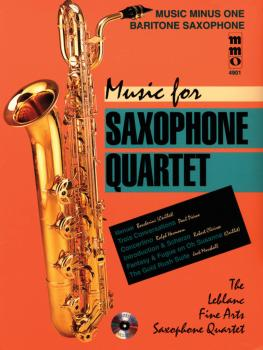 Music for Saxophone Quartet: Music Minus One Baritone Saxophone (HL-00400521)