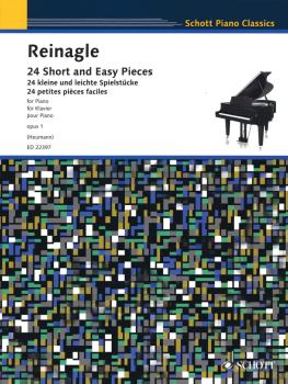 24 Short and Easy Pieces for Piano, Op. 1: Intended First Lessons for  (HL-49045104)