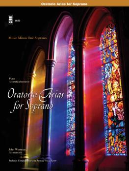 Oratorio Arias for Soprano: Music Minus One Soprano (HL-00400475)