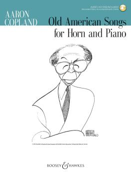 Old American Songs (Horn and Piano) (HL-48023410)