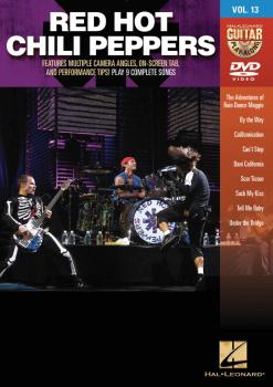 Red Hot Chili Peppers: Guitar Play-Along DVD Volume 13 (HL-00102633)