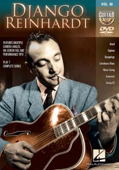 Django Reinhardt: Guitar Play-Along DVD Volume 40 (HL-00102635)