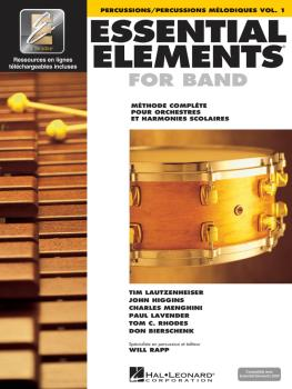 Essential Elements for Band avec EEi: Vol. 1 - Percussions/Percussions (HL-00860217)