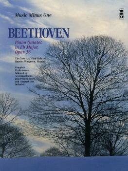 Beethoven -  Piano Quintet in E-flat Major, Op. 16: Music Minus One Ba (HL-00190527)