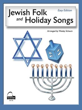 Jewish Folk & Holiday Songs: NFMC 2016-2020 Piano Hymn Event Class I S (HL-00645919)