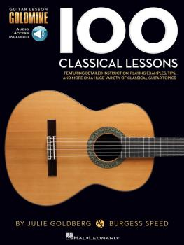 100 Classical Lessons: Guitar Lesson Goldmine Series (HL-00145670)