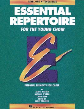 Essential Repertoire for the Young Choir: Level 1 Tenor Bass, Student (HL-08740096)