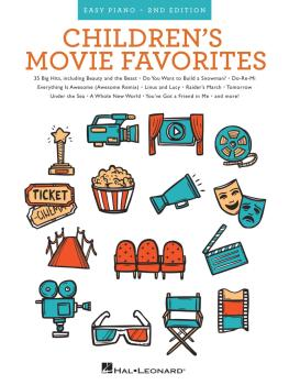 Children's Movie Favorites - 2nd Edition (Easy Piano) (HL-00193093)