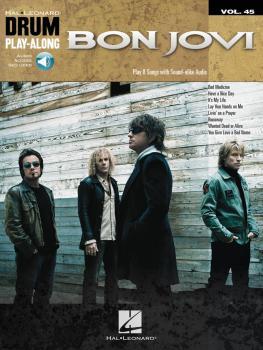 Bon Jovi: Drum Play-Along Volume 45 (HL-00200891)