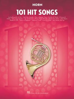 101 Hit Songs (for Horn) (HL-00197186)