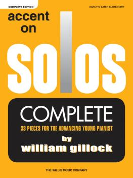 Accent on Solos - Complete: Early to Later Elementary Level (HL-00200896)