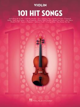 101 Hit Songs (for Violin) (HL-00197188)