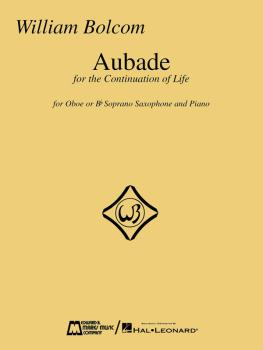 Aubade (For Oboe or B-flat Soprano Saxophone with Piano) (HL-00841554)