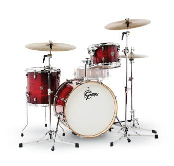 Gretsch Catalina Club 3 Piece Drum Set (20/12/14) (Gloss Crimson Burst (HL-00775188)