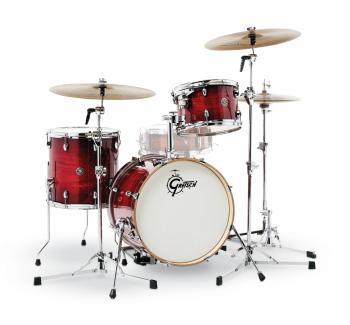 Gretsch Catalina Club 3 Piece Drum Set (18/12/14) (Gloss Crimson Burst (HL-00775195)
