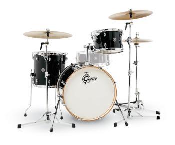 Gretsch Catalina Club 3 Piece Drum Set (20/12/14) (Piano Black) (HL-00776759)
